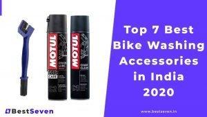 Best Bike Washing Accessories in India