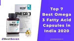 Best Omega 3 Fatty Acid Capsules in India 2020