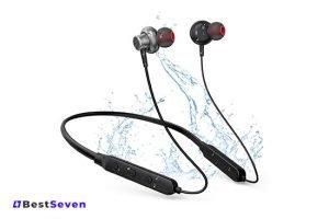 HolyHigh Sports Neckband Wireless Bluetooth Headphones