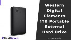 Western Digital Elements 1TB Portable External Hard Drive
